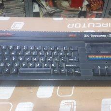 Videojuegos y Consolas: TECLADO SINCLAIR SPECTRUM ZX +2 128 K LEER DESCRIPCION. Lote 217081986