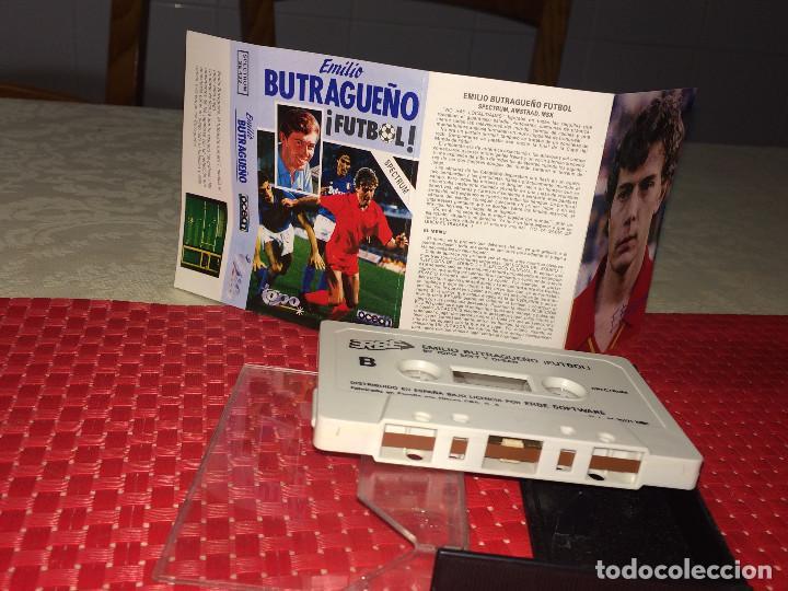 Videojuegos y Consolas: EMILIO BUTRAGUEÑO - SPECTRUM - BUEN ESTADO - Foto 3 - 217946770