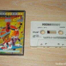Jeux Vidéo et Consoles: JUEGOS SPECTRUM.PROGRAMAS MICROHOBBY CASSETTE Nº 1. MICROHOBBY. Lote 218111446
