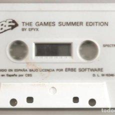 Videojuegos y Consolas: THE GAMES SUMMER EDITION. BY EPYX. SPECTRUM. Lote 218297925