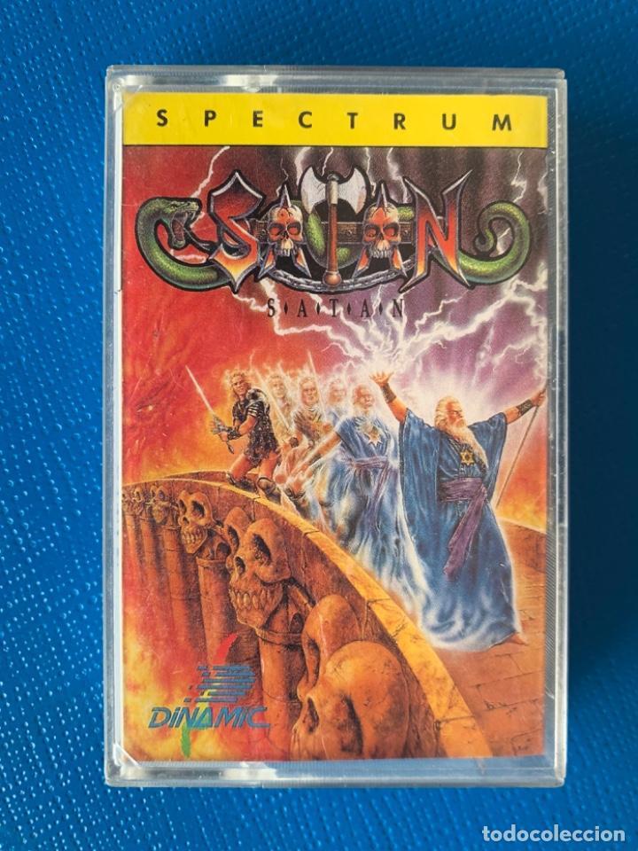 JUEGO DE LA SPECTRUM. SIN PROBAR.SATAN (Juguetes - Videojuegos y Consolas - Spectrum)