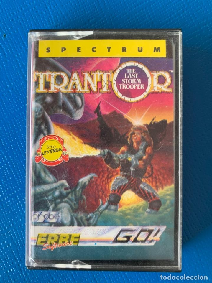 JUEGO DE LA SPECTRUM. SIN PROBAR.TRANTOR (Juguetes - Videojuegos y Consolas - Spectrum)
