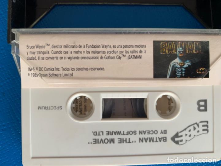 Videojuegos y Consolas: JUEGO DE LA SPECTRUM. SIN PROBAR.OCEAN - Foto 3 - 218525646