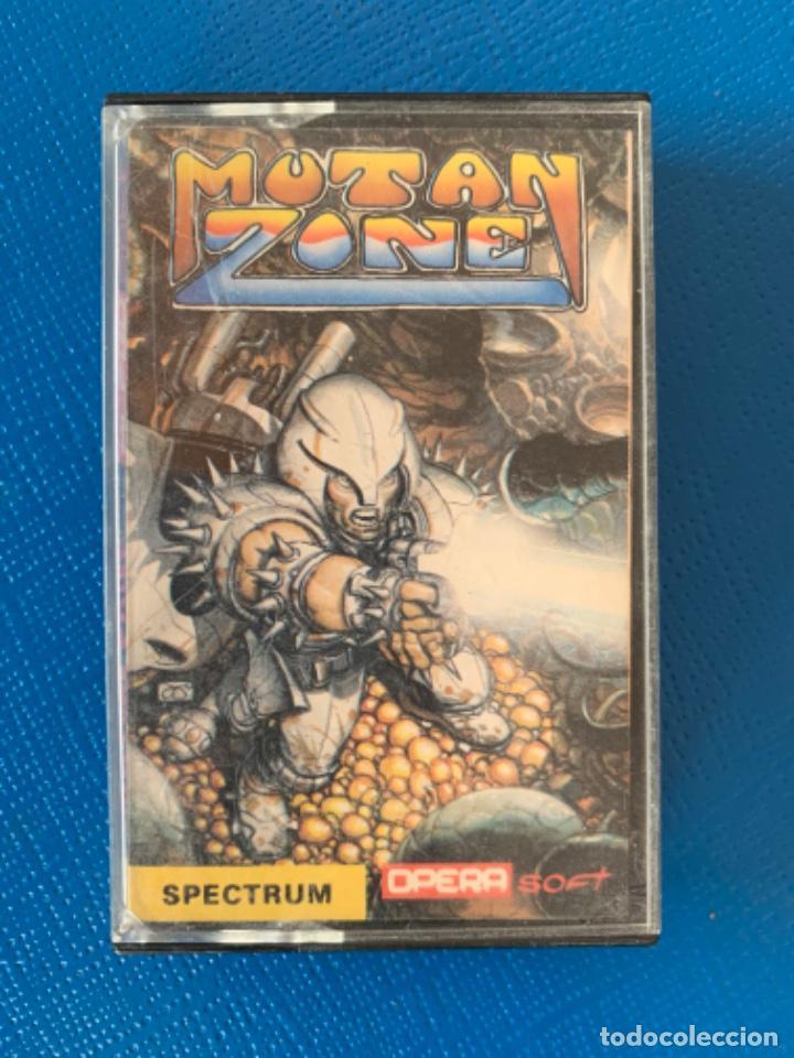 JUEGO DE LA SPECTRUM. SIN PROBAR. MUTAN ZONE (Juguetes - Videojuegos y Consolas - Spectrum)