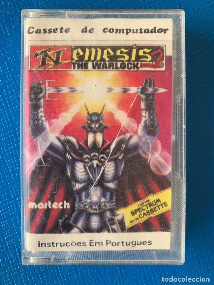 JUEGO DE LA SPECTRUM. SIN PROBAR. NEMESIS, THE WARLOCK (Juguetes - Videojuegos y Consolas - Spectrum)
