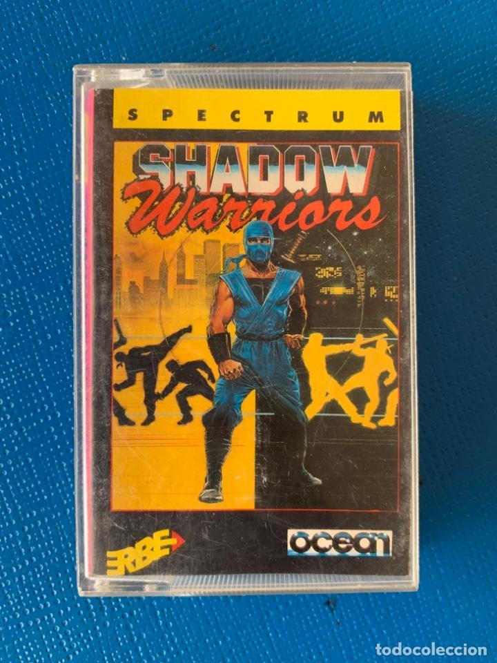 JUEGO DE LA SPECTRUM. SIN PROBAR. SHADOW WARRIOR (Juguetes - Videojuegos y Consolas - Spectrum)