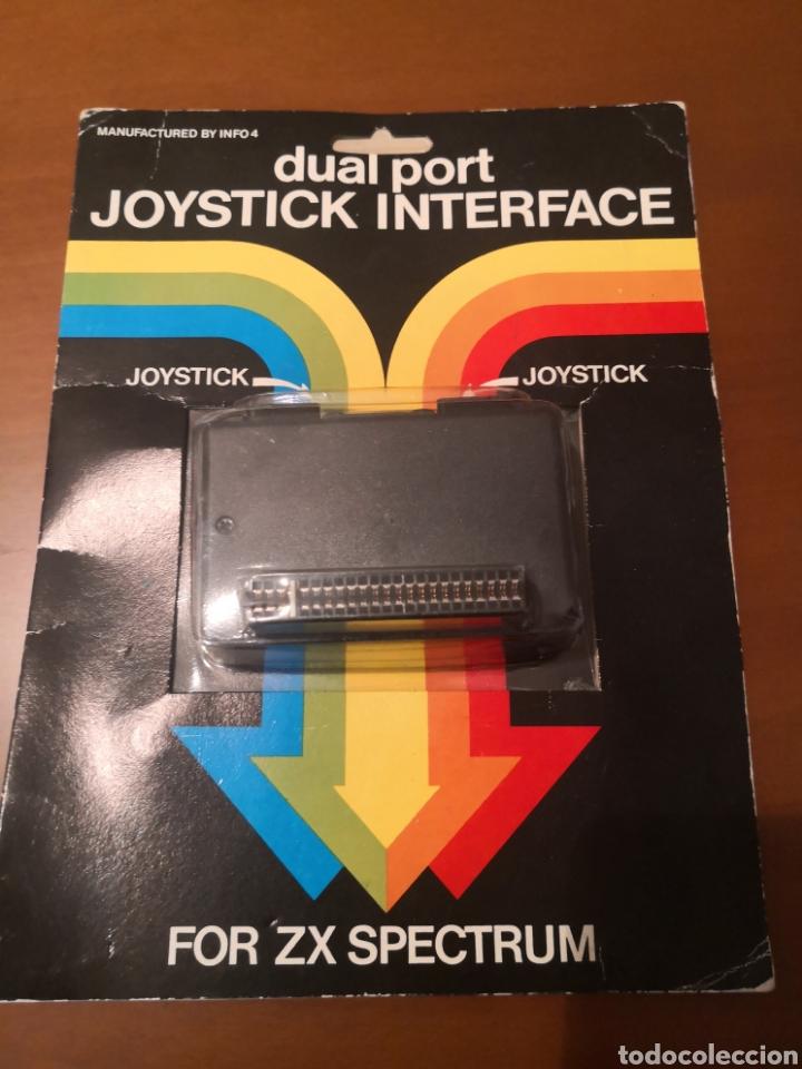 DUAL PORT JOYSTICK INTERFACE NUEVO (Juguetes - Videojuegos y Consolas - Spectrum)