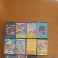 Videojuegos y Consolas: LOTE PACK 12 JUEGOS SPECTRUM Y OTRAS COSAS. Lote 219076682