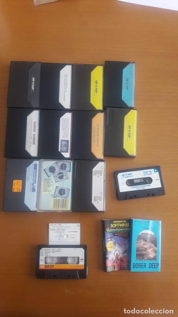 Videojuegos y Consolas: LOTE PACK 12 JUEGOS SPECTRUM Y OTRAS COSAS - Foto 3 - 219076682