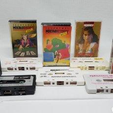Videojuegos y Consolas: JUEGOS ZX SPECTRUM SINCLAIR MICRO HOBBY MICROHOBBY NUMEROS 10 12 SABRINA SALERNO FERNANDO MARTIN. Lote 219336683