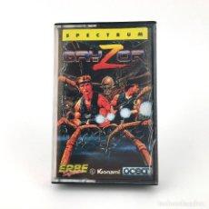 Videojuegos y Consolas: GRYZOR CONTRA ERBE KONAMI SINCLAIR ZX SPECTRUM CASSETTE 48K +2 128K RUN AND GUN PROBOTECTOR KONTORA. Lote 220542045
