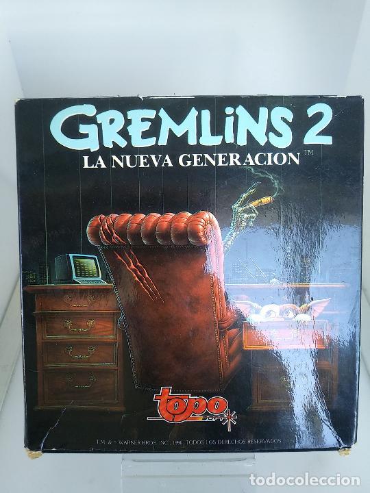Videojuegos y Consolas: GREMLINS 2 de TOPO SOFT / SINCLAIR ZX SPECTRUM caja de carton - Foto 2 - 220674840