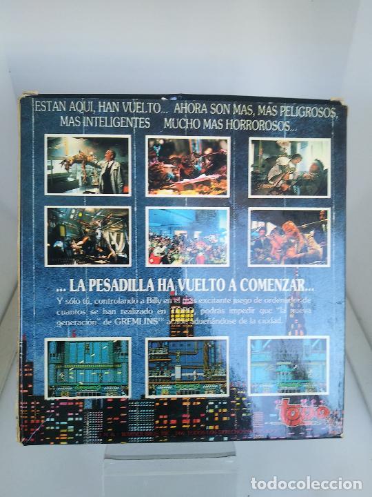 Videojuegos y Consolas: GREMLINS 2 de TOPO SOFT / SINCLAIR ZX SPECTRUM caja de carton - Foto 3 - 220674840