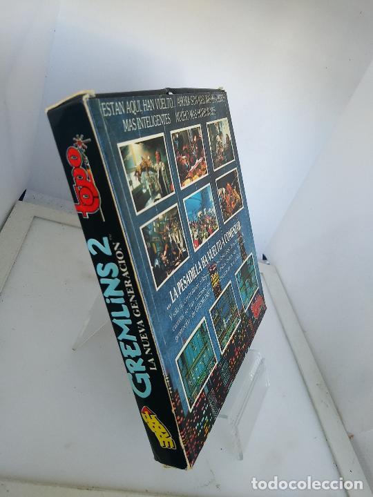 Videojuegos y Consolas: GREMLINS 2 de TOPO SOFT / SINCLAIR ZX SPECTRUM caja de carton - Foto 4 - 220674840