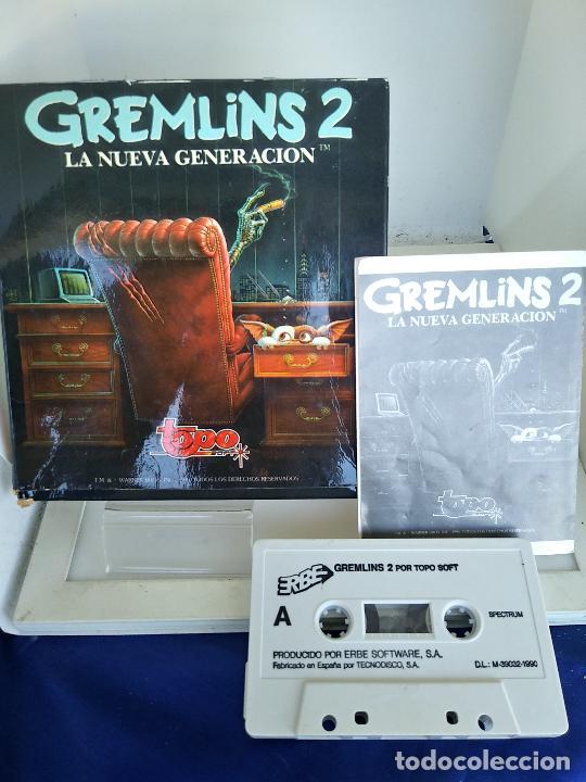 GREMLINS 2 DE TOPO SOFT / SINCLAIR ZX SPECTRUM CAJA DE CARTON (Juguetes - Videojuegos y Consolas - Spectrum)