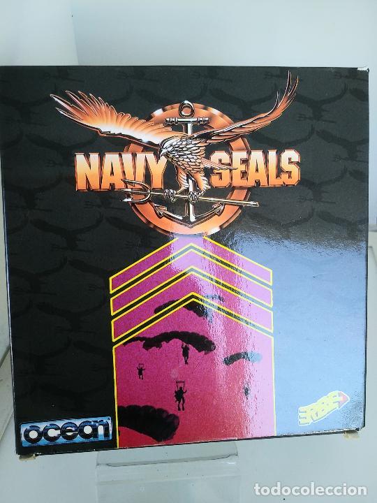 Videojuegos y Consolas: Juego de Spectrum - Navy Seals - muy raro caja de carton muy buen estado - Foto 2 - 220675971
