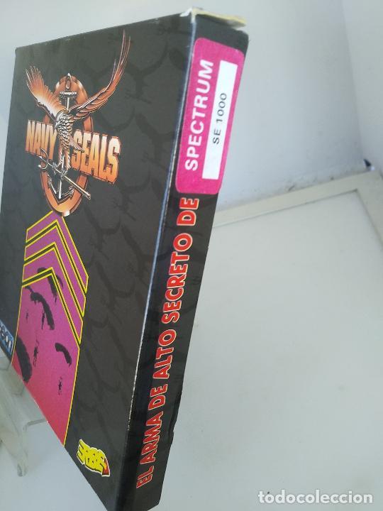 Videojuegos y Consolas: Juego de Spectrum - Navy Seals - muy raro caja de carton muy buen estado - Foto 3 - 220675971