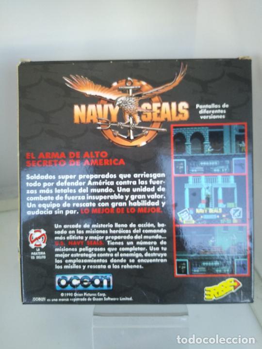 Videojuegos y Consolas: Juego de Spectrum - Navy Seals - muy raro caja de carton muy buen estado - Foto 4 - 220675971