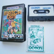 Videojuegos y Consolas: JUEGO DE SPECTRUM - MATCH DAY - ESTUCHE - OCEAN. Lote 220675988
