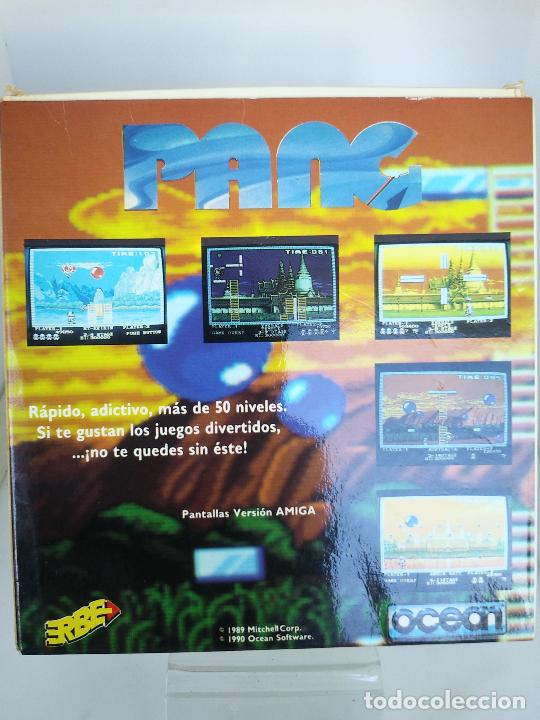 Videojuegos y Consolas: GAME FOR SPECTRUM PANG ERBE SPANISH VERSION OCEAN 1990 caja de carton - Foto 4 - 220676233