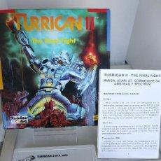 Videojuegos y Consolas: TURRICAN 2 - THE FINAL FIGHT [ERBE [ZX SPECTRUM] CAJA CARTÓN BUEN ESTADO. Lote 220676560