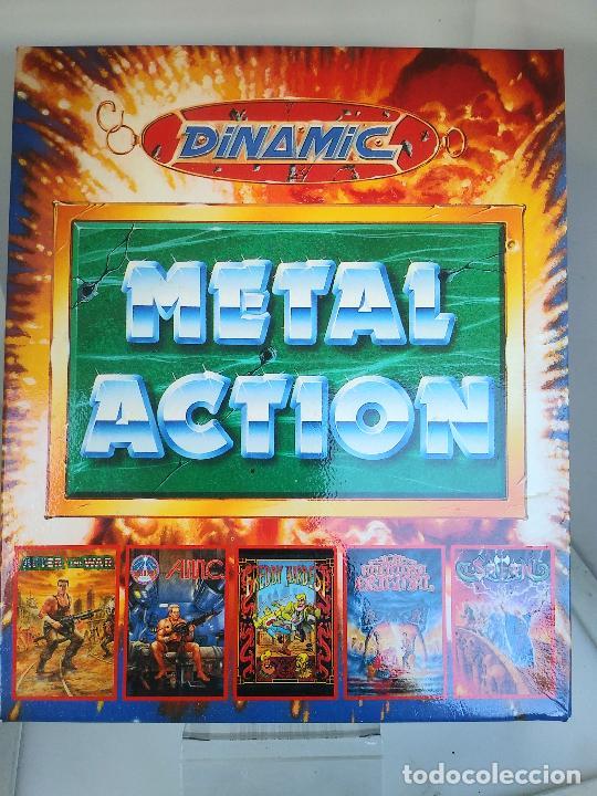 Videojuegos y Consolas: Metal Action [Dinamic Soft 1990 Zx Spectrum] After the War,AMC,Satan,Aventura Original,FreddyH in MS - Foto 2 - 220677481