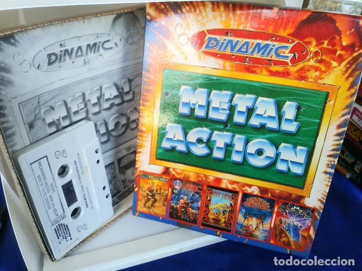 METAL ACTION [DINAMIC SOFT 1990 ZX SPECTRUM] AFTER THE WAR,AMC,SATAN,AVENTURA ORIGINAL,FREDDYH IN MS (Juguetes - Videojuegos y Consolas - Spectrum)