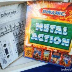 Videojuegos y Consolas: METAL ACTION [DINAMIC SOFT 1990 ZX SPECTRUM] AFTER THE WAR,AMC,SATAN,AVENTURA ORIGINAL,FREDDYH IN MS. Lote 220677481