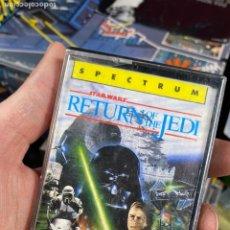 Videogiochi e Consoli: VIDEOJUEGO STAR WARS RETURN OF THE JEDI EL RETORNO DEL JEDI SPECTRUM CASSETTE. Lote 220886030