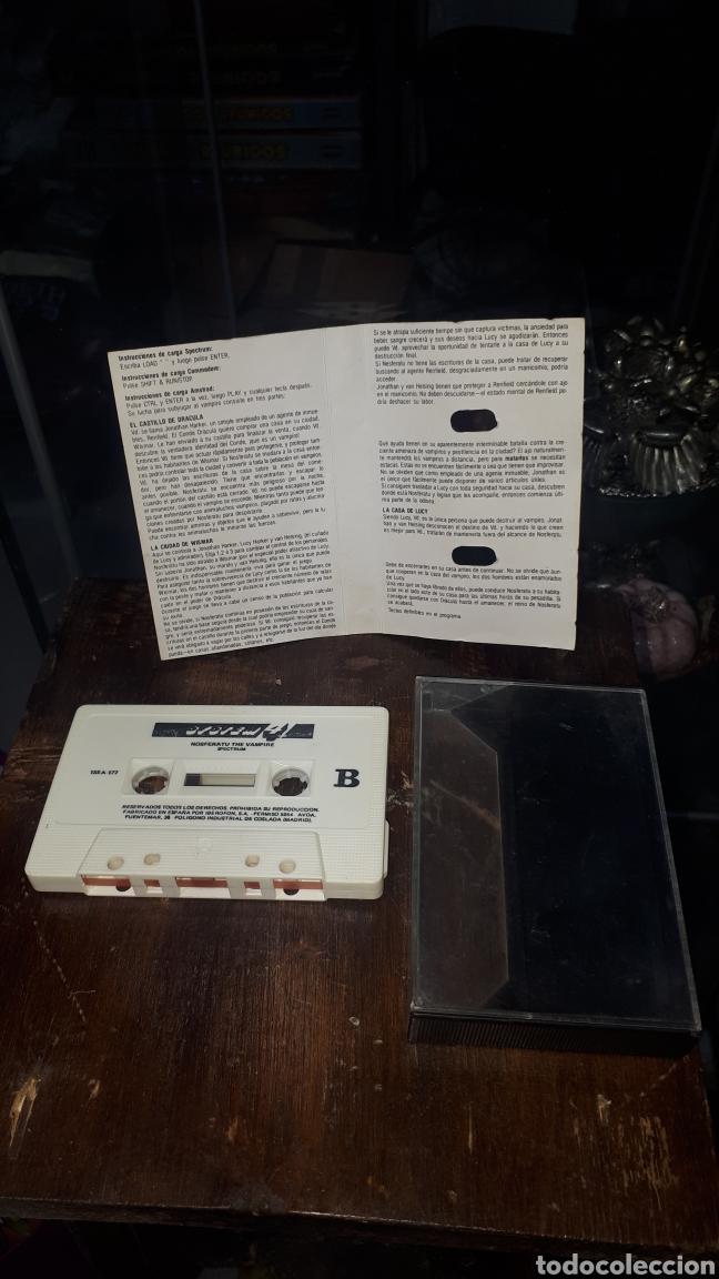 Videojuegos y Consolas: NOSFERATU THE VAMPIRE PARA SPECTRUM - Foto 2 - 221359065