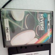 Videojuegos y Consolas: VIDEOJUEGO SPECTRUM - REVERSI. Lote 222347910