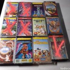 Videojuegos y Consolas: VIDEOJUEGOS PARA SPECTRUM.LOTE DE 7 VIDEOJUEGOS.VINTAGE.. Lote 222524377