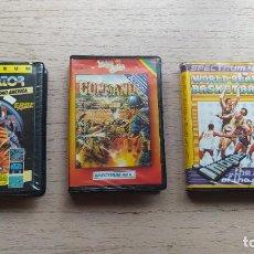 Videojuegos y Consolas: 3 VIDEOJUEGOS SPECTRUM EN ESTUCHE. TAGS: SINCLAIR, AÑOS 80, NO AMSTRAD, MSX, COMMODORE. Lote 222666221