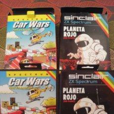 Videojuegos y Consolas: SPECTUM CAR WARS Y PLANETA ROJO HOMEBREW. Lote 222790030