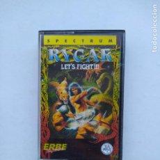Videojuegos y Consolas: RYGAR - LET'S FIGHT!!! ERBE SOFTWARE. SPECTRUM. TDKCST12. Lote 222875593