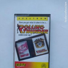 Videojuegos y Consolas: ROLLING THUNDER. UNDECOVER COP? SPECTRUM. TDKCST12. Lote 222875756