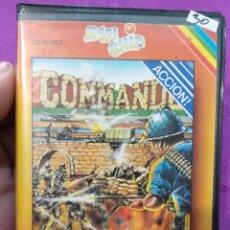 Videojuegos y Consolas: JUEGO SPECTRUM 48 K COMANDO. Lote 222898061