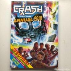 Videojuegos y Consolas: LIBRO CRASH ZX SPECTRUM ANNUAL 2018 120 PAGINAS - RETRO GAMER. Lote 223825652