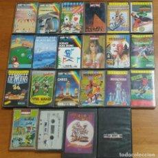 Videojuegos y Consolas: LOTE 22 JUEGOS SPECTRUM. Lote 224913216
