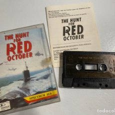 Videojuegos y Consolas: SPECTRUM THE HUNT FOR RED OCTOBER. Lote 226673550