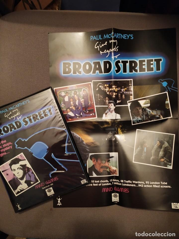 PAUL MCCARTNEY GIVE MY REGARDS TO BROAD STREET SPECTRUM 48K JUEGO 1985 VIDEOGAME BEATLES ESTUCHE UK (Juguetes - Videojuegos y Consolas - Spectrum)