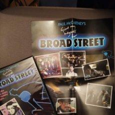 Videojuegos y Consolas: PAUL MCCARTNEY GIVE MY REGARDS TO BROAD STREET SPECTRUM 48K JUEGO 1985 VIDEOGAME BEATLES ESTUCHE UK. Lote 259020845