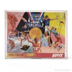 Videojuegos y Consolas: THE GAMES SUMMER EDITION ERBE EPYX 1989 JUEGOS OLIMPICOS VERANO ATLETISMO DEPORTE SPECTRUM CASSETTE. Lote 227244200
