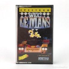 Videojuegos y Consolas: WEC LE MANS / ERBE LOMO ROSA OCEAN SOFTWARE CORELAND 1987 CARRERAS DE COCHES JUEGO SPECTRUM CASSETTE. Lote 227244955