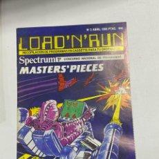 Videojuegos y Consolas: LOAD'N'RUN. SPECTRUM. Nº 3. FEBRERO 1985. MASTERS PIECES VER. Lote 228404890