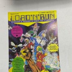 Videojuegos y Consolas: LOAD'N'RUN. SPECTRUM. Nº 2. MARZO 1985. 10 JUEGOS Y UTILIDADES. VER. Lote 228404980