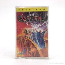 Jeux Vidéo et Consoles: SATAN DINAMIC SOFTWARE 1989 CAPCOM BLACK TIGER CLONE LUIS ROYO SNATCHO SINCLAIR ZX SPECTRUM CASSETTE. Lote 228683070