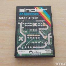 Videojogos e Consolas: JUEGO SPECTRUM. MAKE-A-CHIP. INCOGNITO / SINCALIR. Lote 229324100
