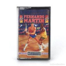Videojuegos y Consolas: FERNANDO MARTIN BASKET MASTER DINAMIC SOFTWARE ESPAÑA BALONCESTO JUEGO SINCLAIR ZX SPECTRUM CASSETTE. Lote 229680745