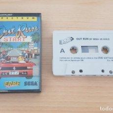 Jeux Vidéo et Consoles: JUEGO SPECTRUM OUT RUN START-ED.ESPAÑOLA-COMPLETO CON INSTRUCCIONES. Lote 229887740